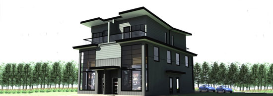 Modern fourplex gallery for Modern fourplex designs